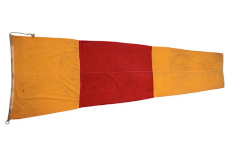 Nautical Signal Flag, Number 0