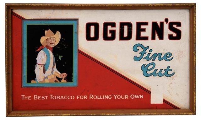 Ogden's Tobacco Sign