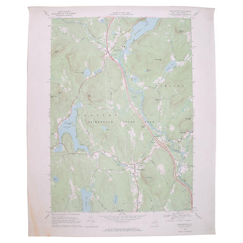 Chestertown, NY Map