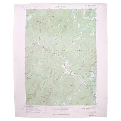 Stony Creek, NY Topographic Map