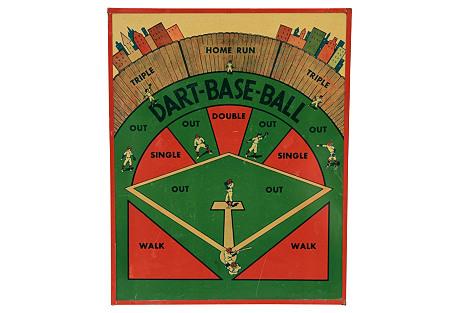 Baseball Metal Gameboard