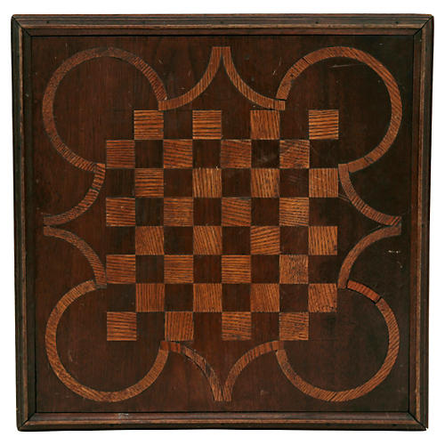 Marquetry Game Board