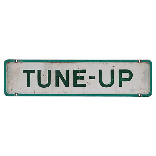 Tune-Up Sign