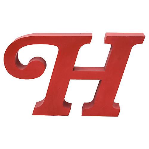 Sign Letter H