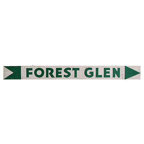 Forest Glen Sign