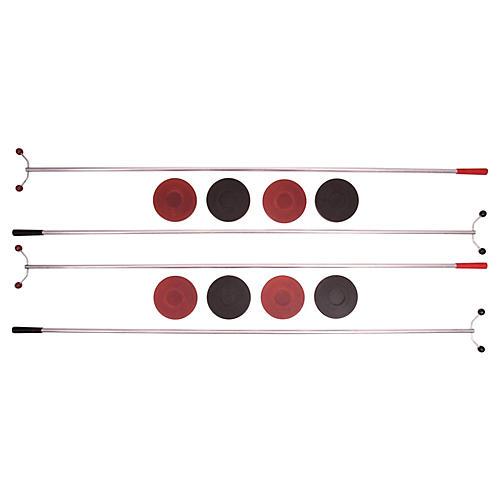 Midcentury Shuffleboard Set, 12 Pcs