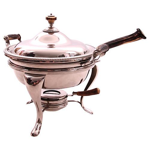 Chaffing Dish w/ Antler Handles