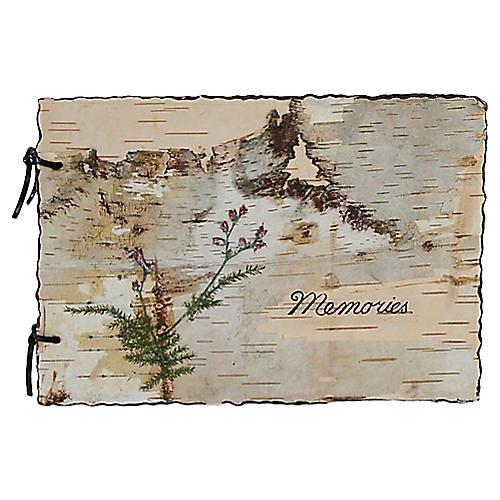 Birchbark Memories Album