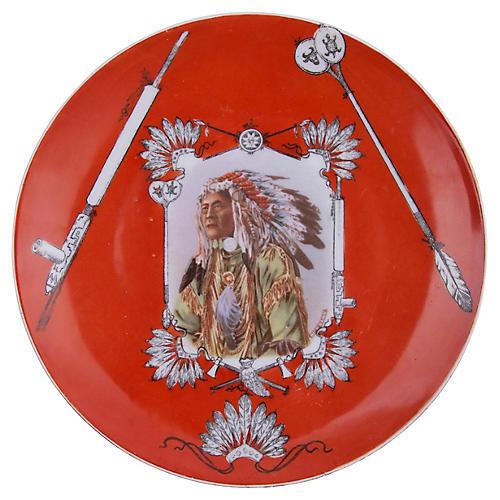 Royal Saxe Chief High Hawk Plate
