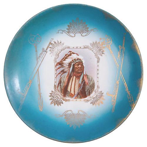 Royal Saxe Chief Plate