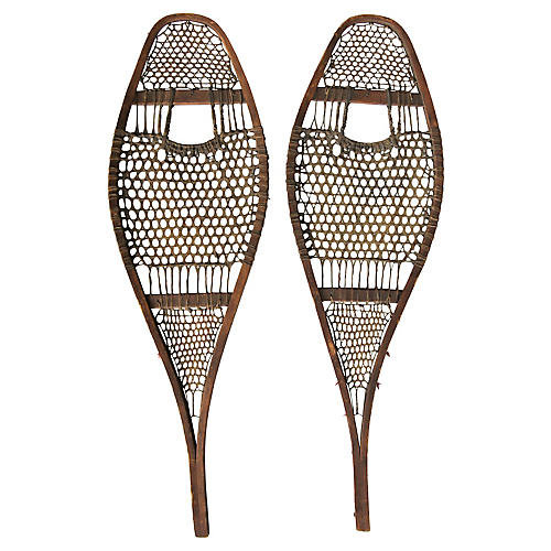 Early Handmade Snowshoes