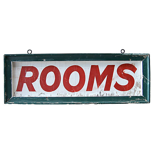 Rooms Sign