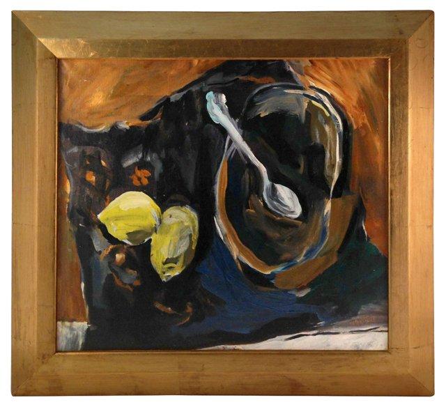 Still Life w/ Lemons by Bill Burke