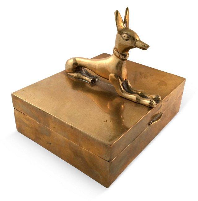 Brass Hound Box