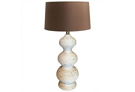 Plaster Triple Gourd Lamp