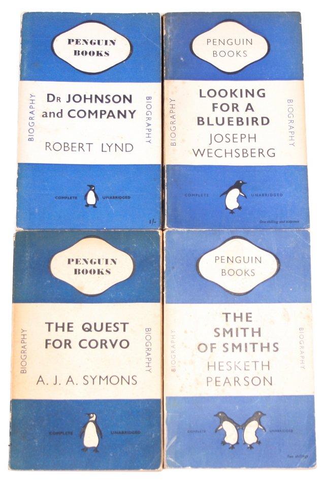 Blue Penguin Books, S/4