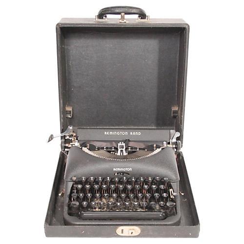 Remington Rand De Luxe Model 5