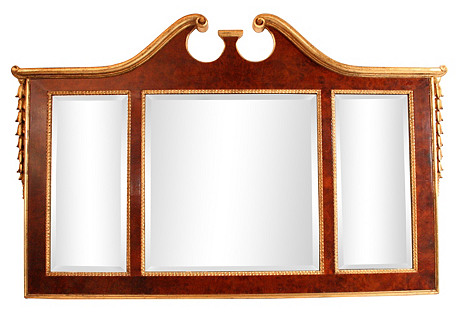 La Barge Giltwood Wall Mirror