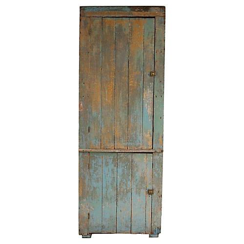 Tall Aqua Cabinet