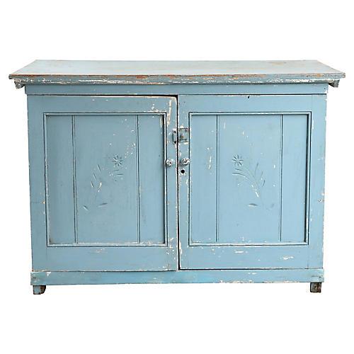 Blue Base Cabinet