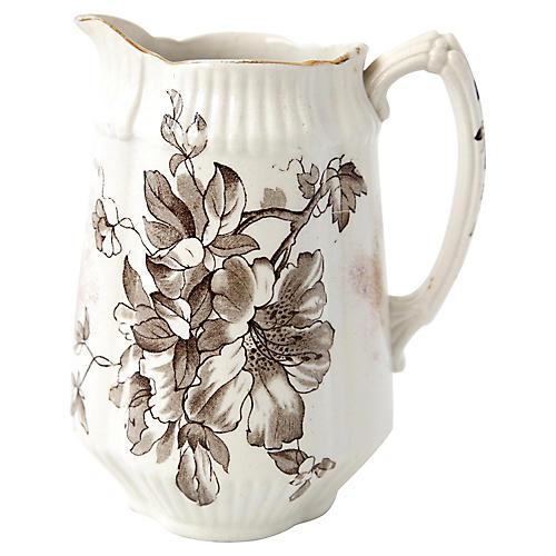 Painted Ceramic Creamer
