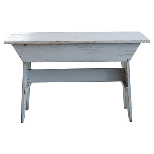 Farmhouse-Style Bench