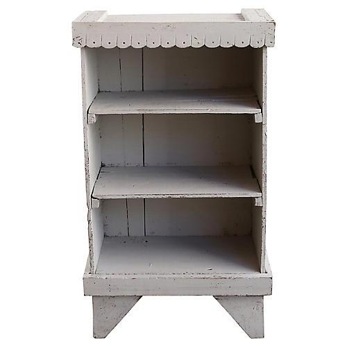 Hand-Painted Bookshelf