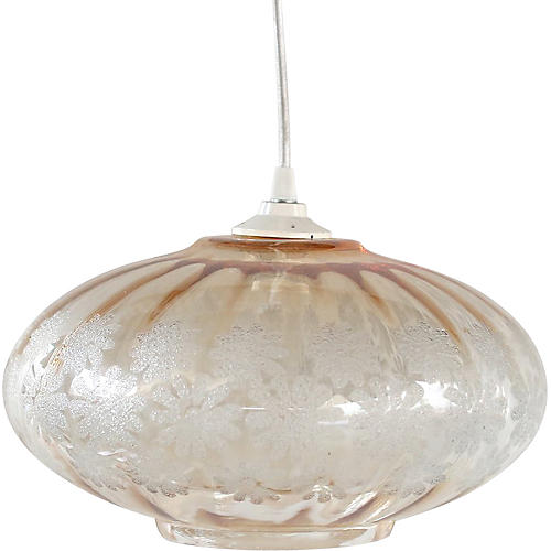 Frosted Glass Hanging Pendant