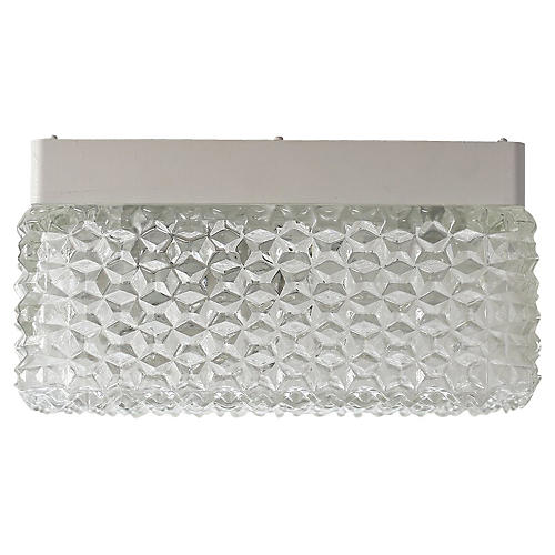 Crystal Glass Ceiling Fixture 8