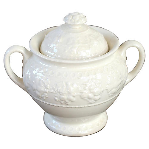 Cream Sugar Bowl