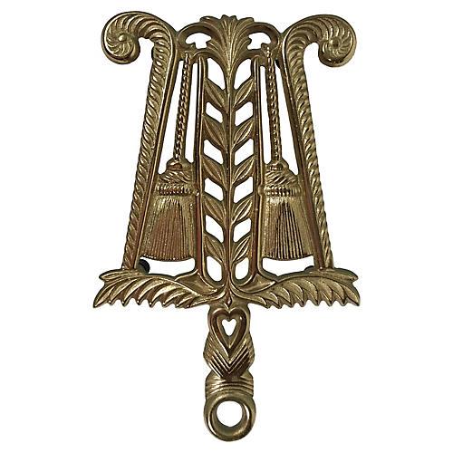 Brass Tassel Trivet