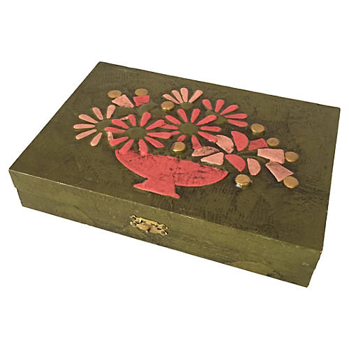 Midcentury Playing-Card Box