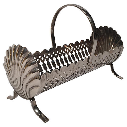 Shell Serving Basket