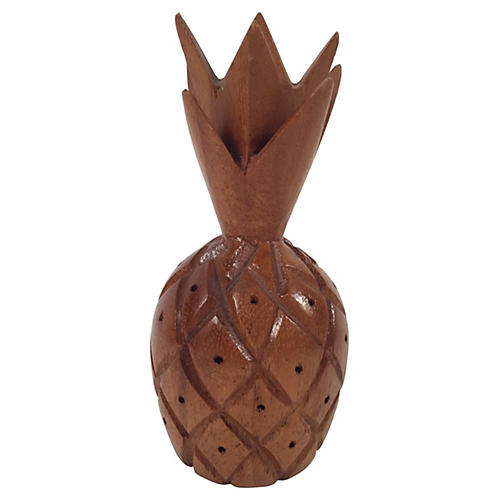 Wood Pineapple Hors d'oeuvres Holder
