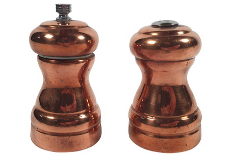 Copper Salt and Pepper Grinder