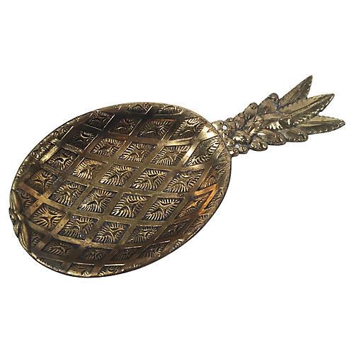 Pineapple Brass Tray