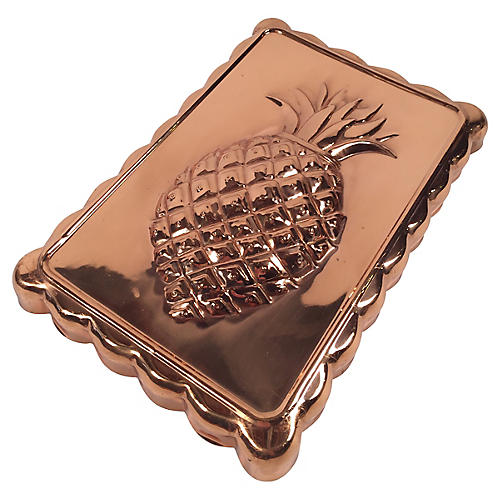 Copper Pineapple Mold