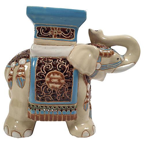 Ceramic Elephant Stand