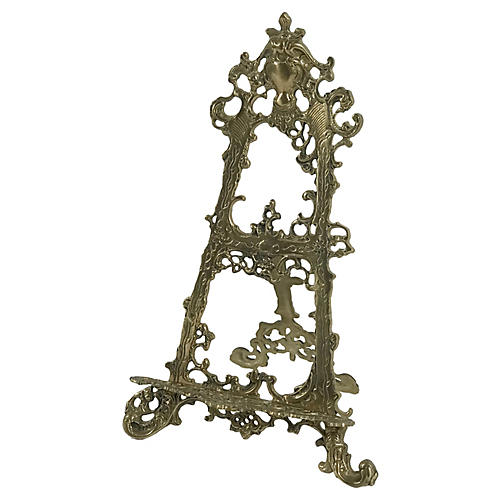 Decorative Brass Table Easel
