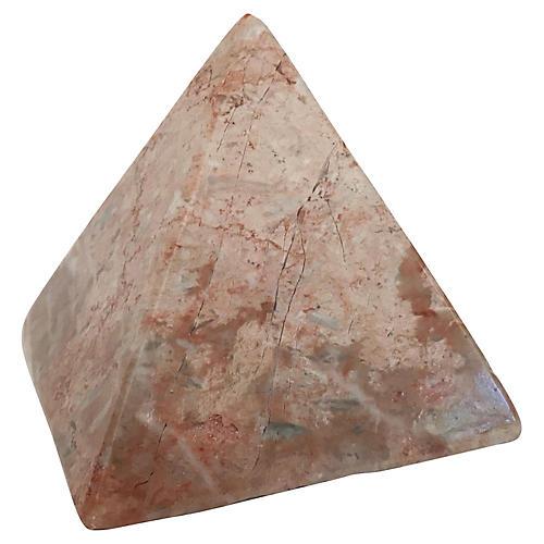 Stone Pyramid Paper Weight