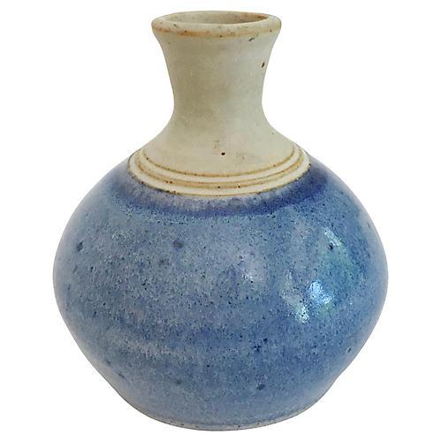 Studio Pottery Weed Pot