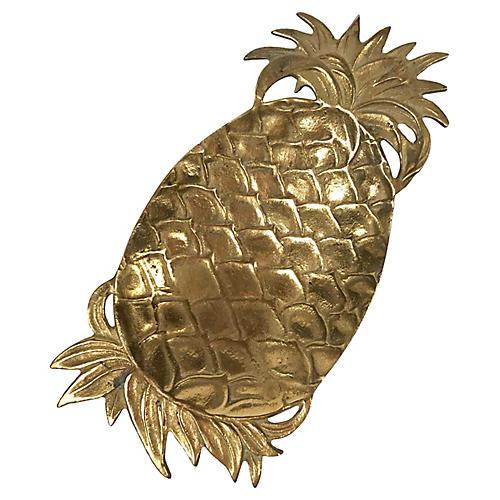 Brass Pineapple Tray