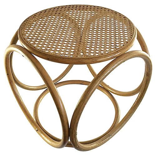 Bentwood and Cane Stool