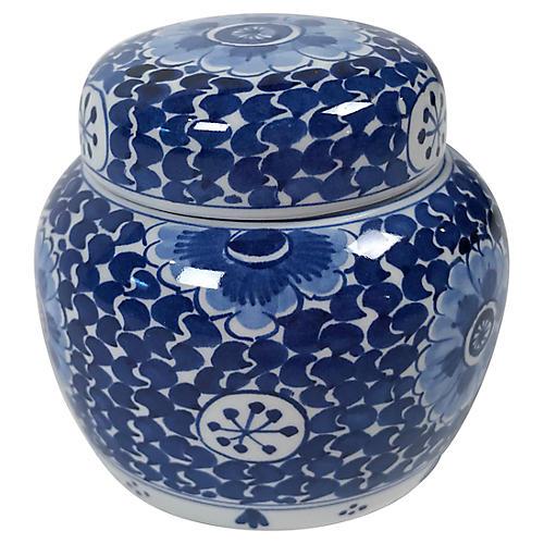 Royal Delft Ginger Jar
