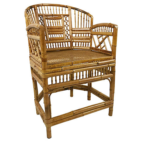 Brighton Pavillion Style Bamboo Chair