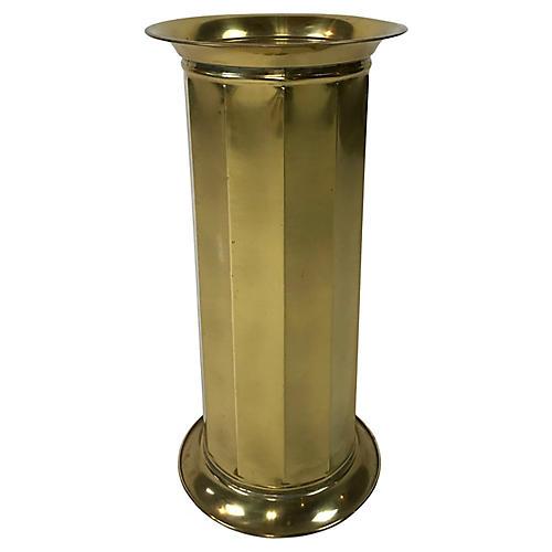 Octagonal Brass Stand