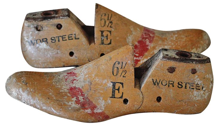 Shoe Forms, Pair
