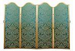 Upholstered Folding Room Screen