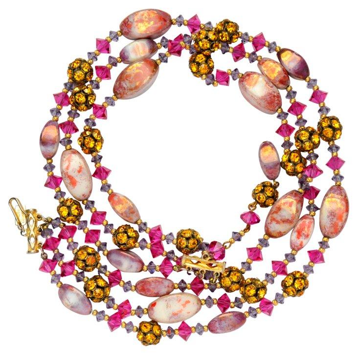 Hattie Carnegie Beaded Necklace