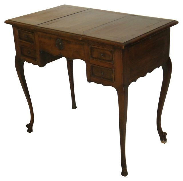 19th-C. Italian Dressing Table w/ Slides
